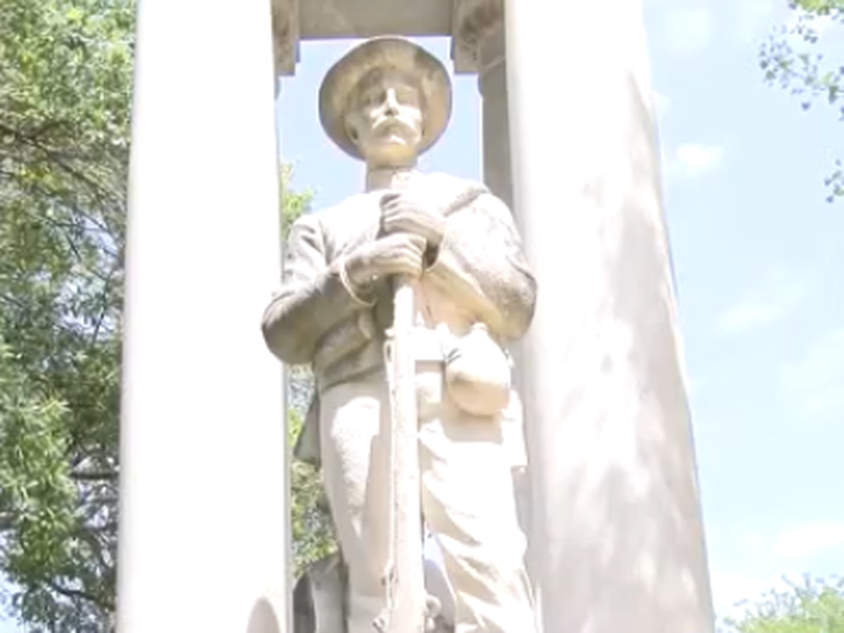 Miss. cemetery site prepped to receive Confederate monument