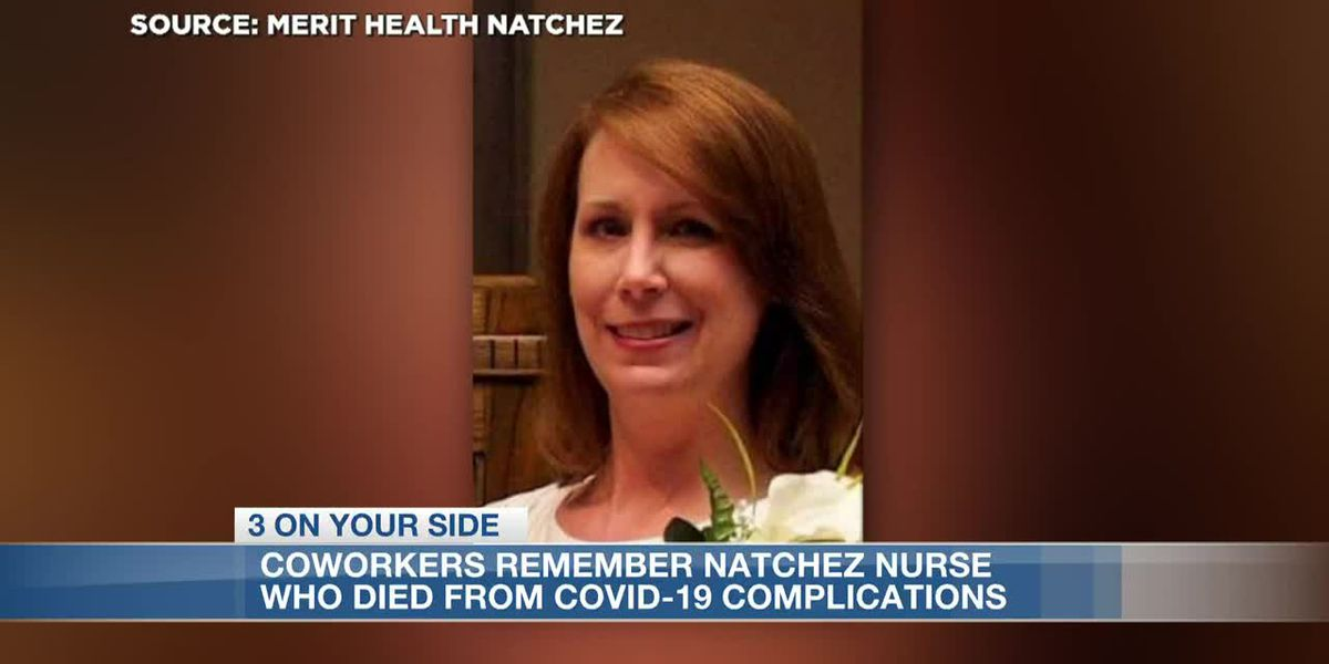Coworkers remember nurse who died from COVID-19 complications