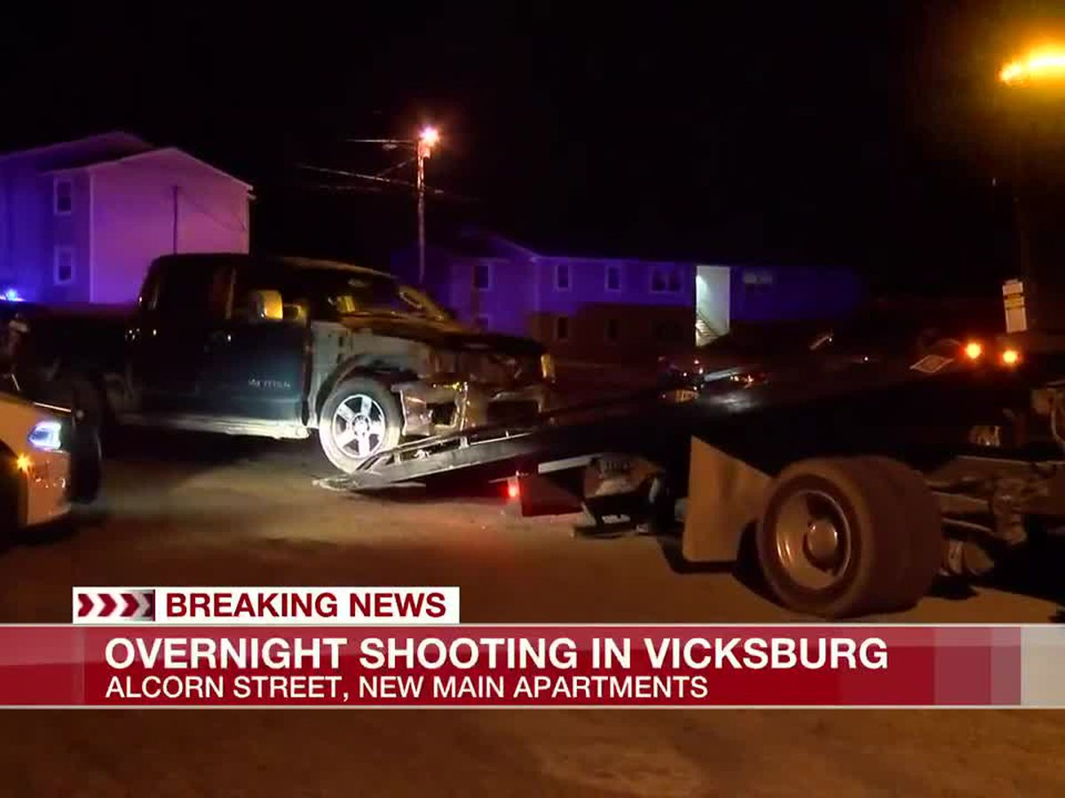 Security guard injured in shooting at Vicksburg apartment complex