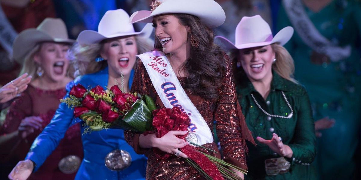 Learned woman crowned Miss Rodeo America