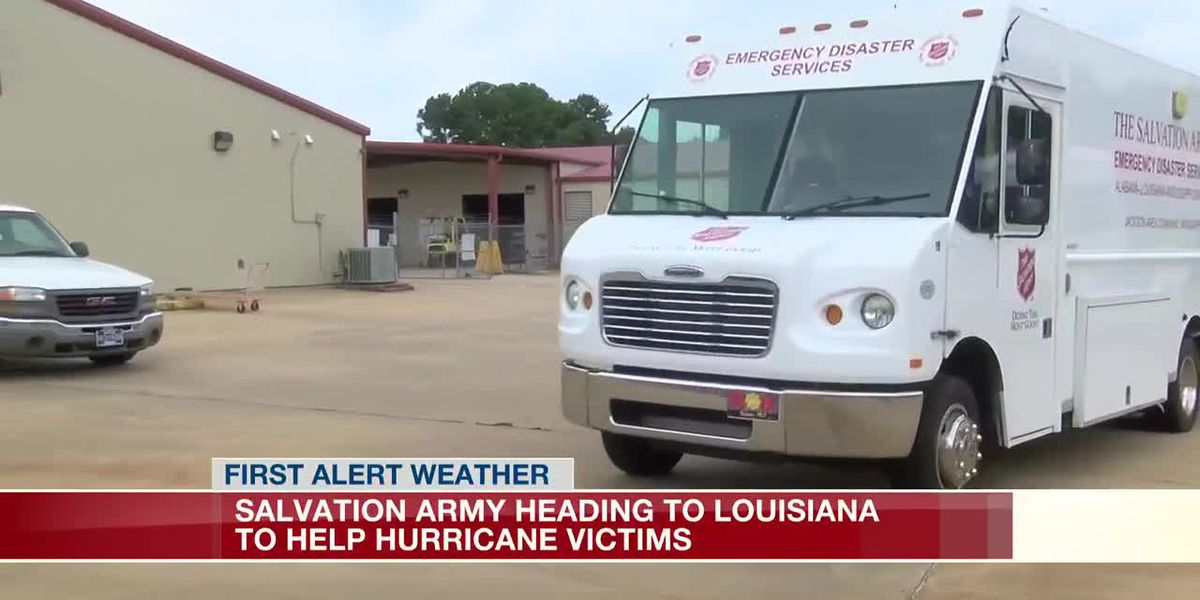 Local Salvation Army headed to Louisiana to help hurricane victims
