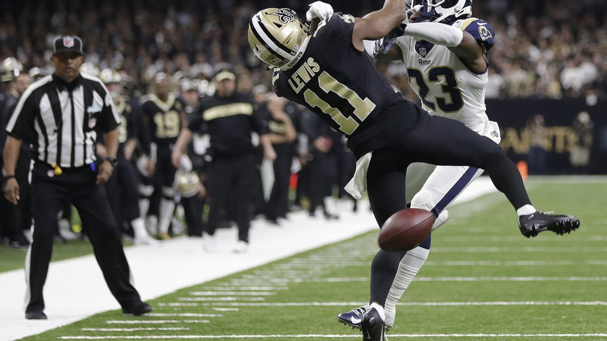 REPORT: Rams defensive back fined for controversial hit on Saints wide receiver during NFC Championship Game