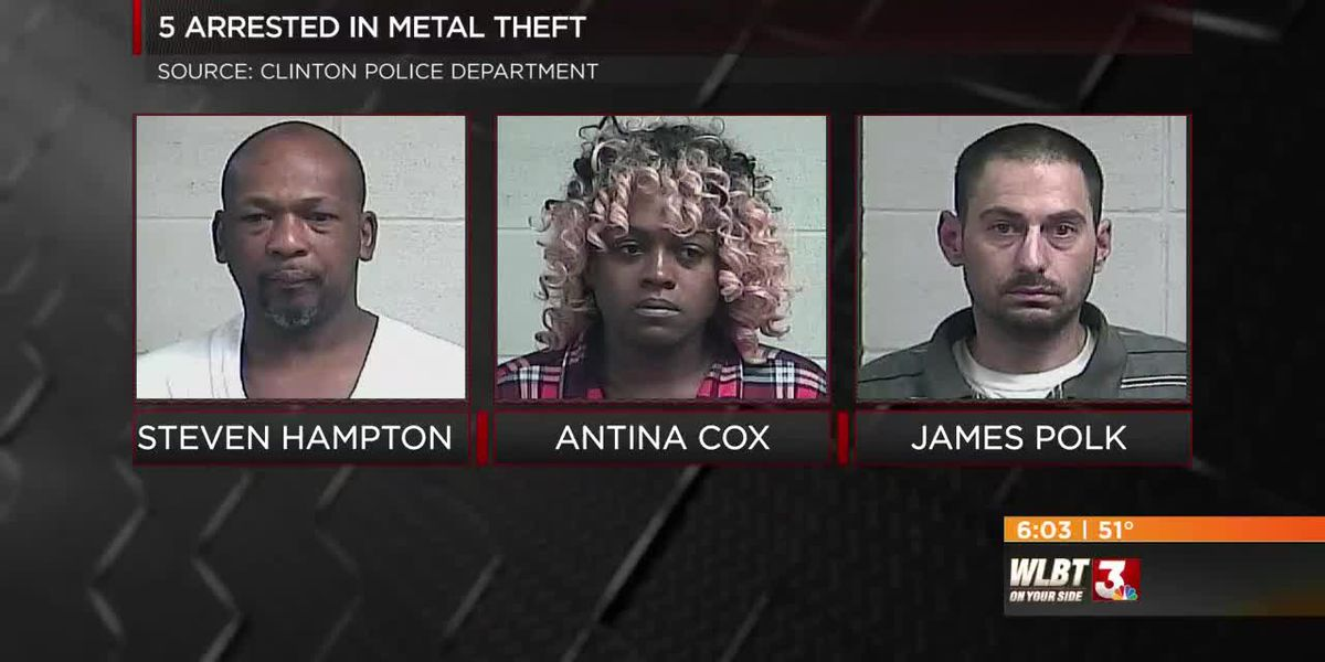 Thieves arrested stealing metal from vacant Delphi Packard building