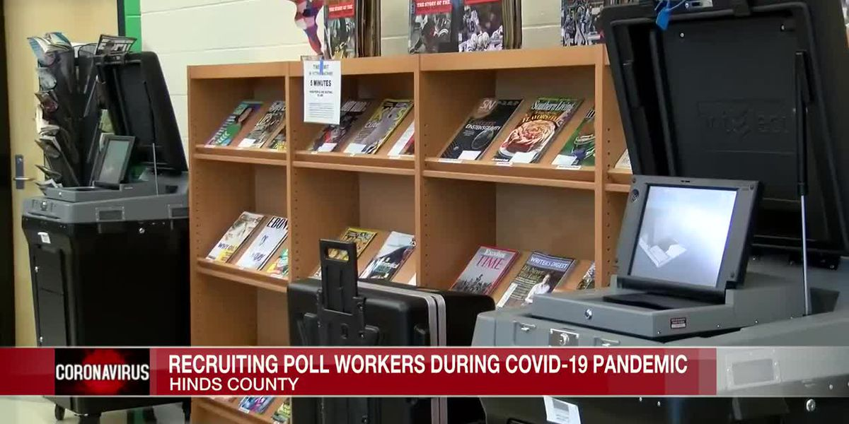 Hinds County exploring ways to avoid poll worker shortage as election looms