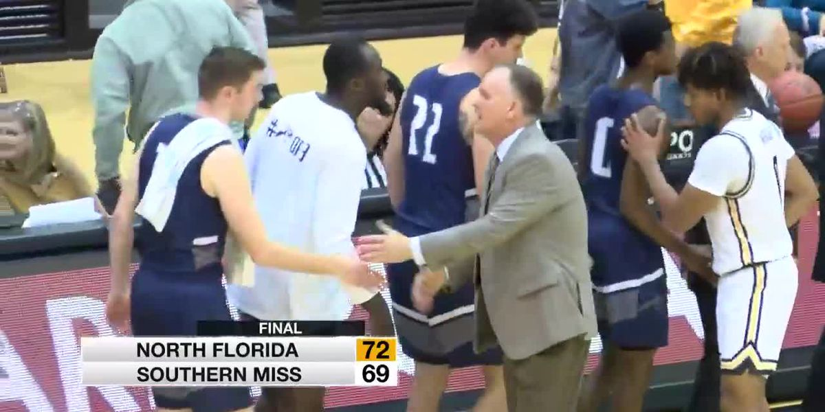 USM hoops falls at home to North Florida, 72-69