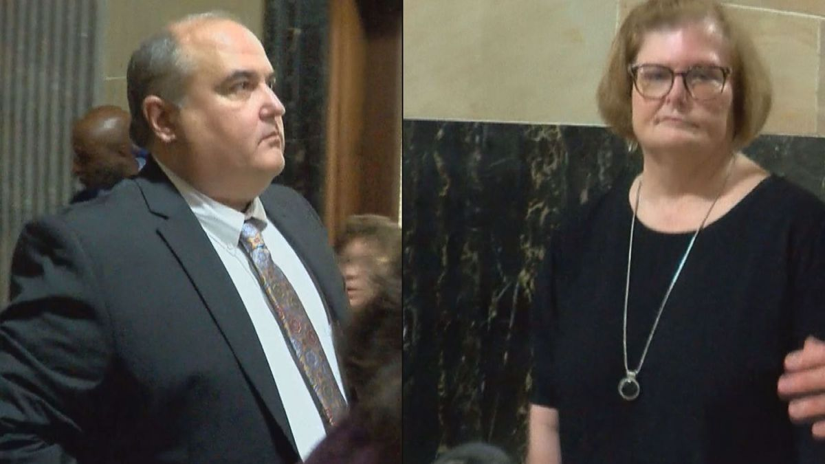 EXCLUSIVE: Two DHS embezzlement case defendants appear in court