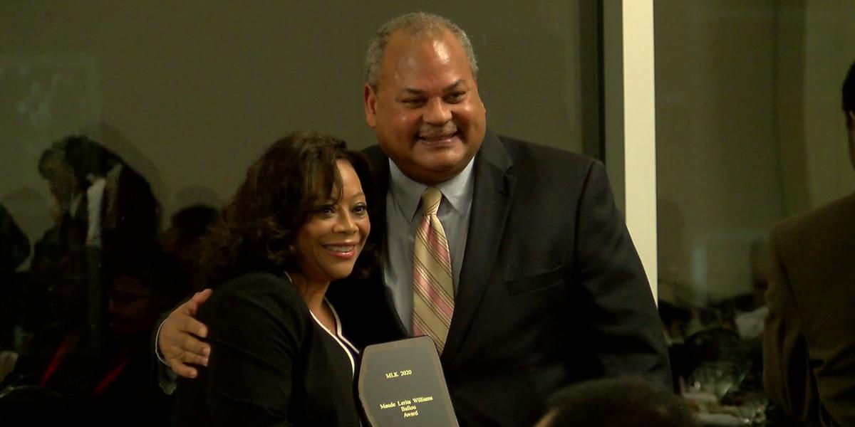 WLBT's Maggie Wade honored at MLK banquet