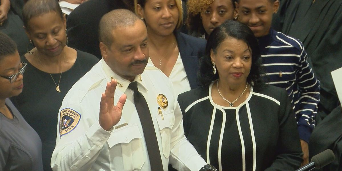 Newly elected Hinds County officials sworn-in