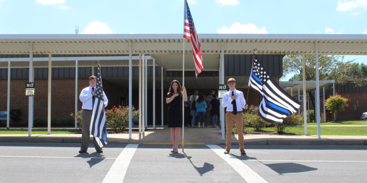 SLIDESHOW: Enterprise Attendance Center honors alumni Cpl. Zach Moak