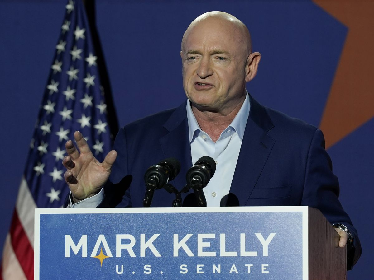 Arizona's Mark Kelly is sworn into Senate, narrowing GOP edge