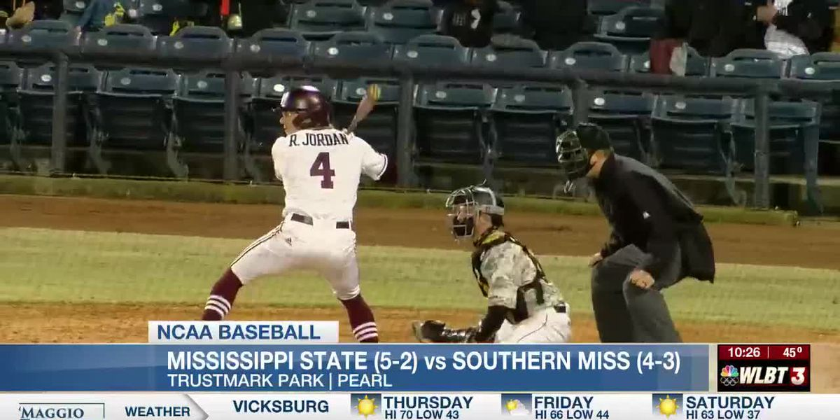 MSU pitching dominates USM at Trustmark Park