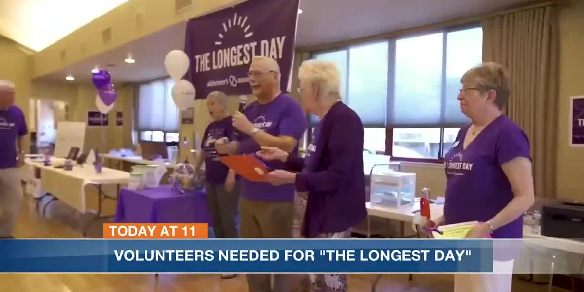 Volunteers needed for 'The Longest Day' Alzheimer's event
