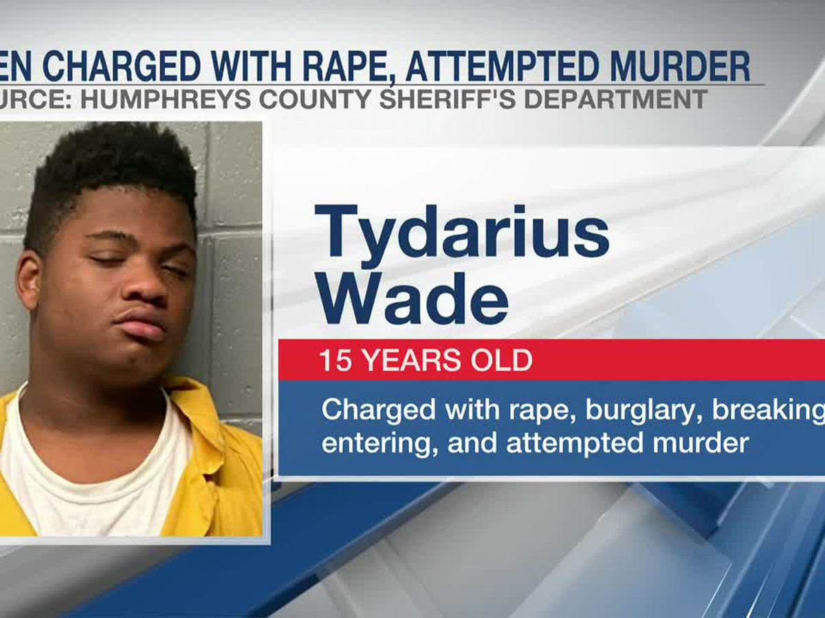 Accused rapist, 15, faces $2 million bond in elderly Mississippi woman's attack