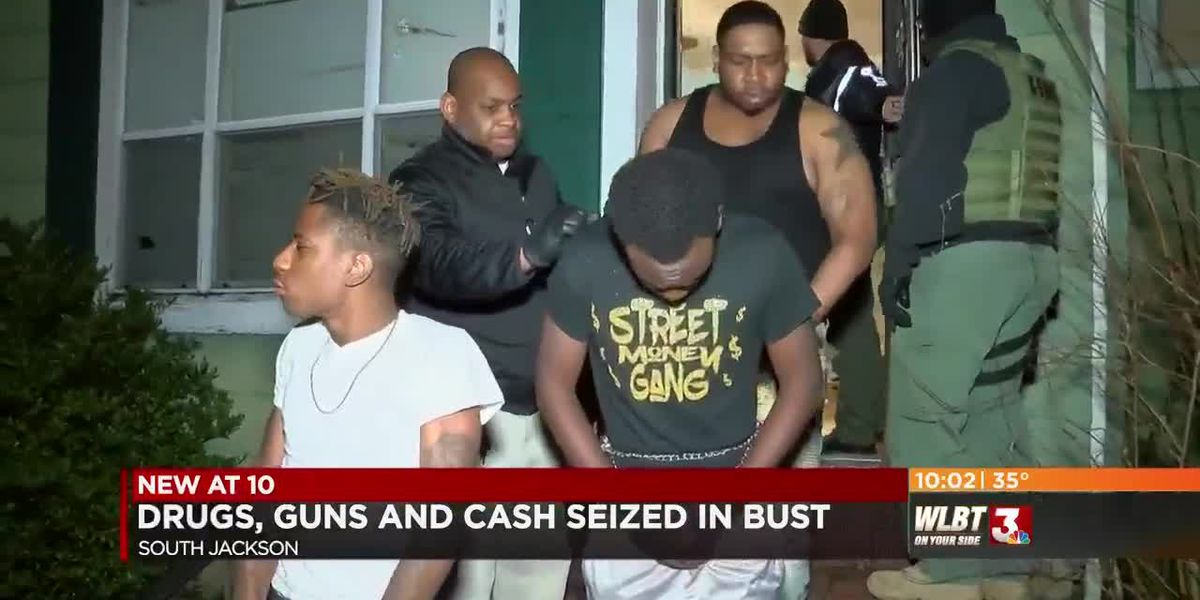 Drugs, guns, and cash seized in bust