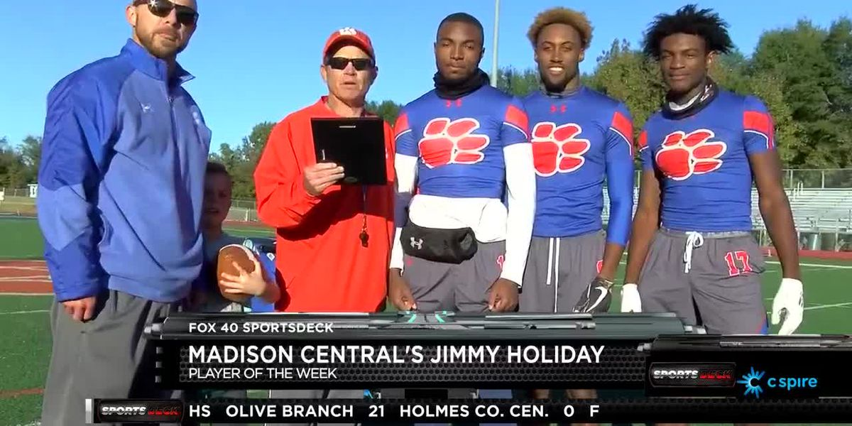 PLAYER OF THE WEEK: Madison Central's Jimmy Holiday