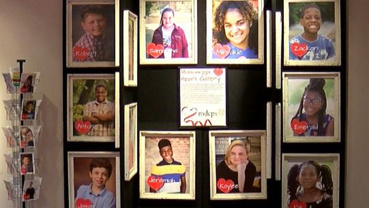 Mississippi Heart Gallery features children 'harder to place' for adoption