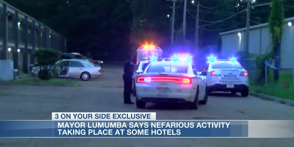 Mayor Lumumba says JPD is keeping a close eye on some hotels in the city