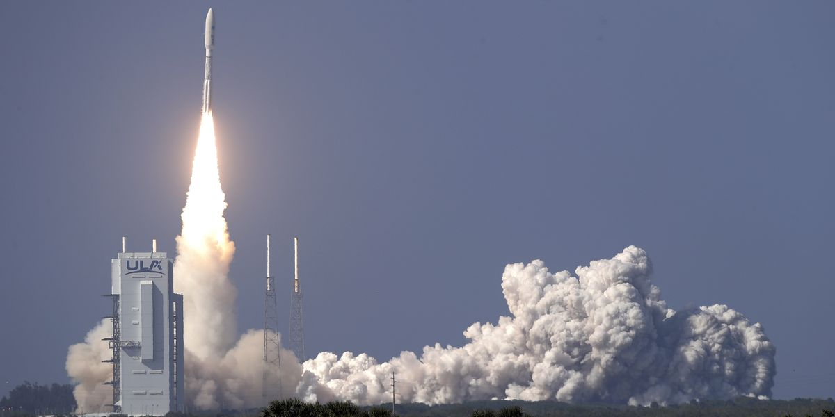 Space Force launches its 1st mission with virus precautions