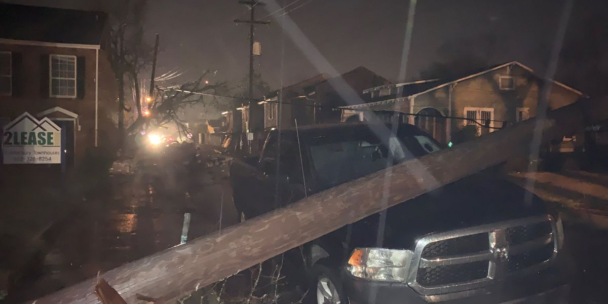 Severe weather sweeps through Mississippi
