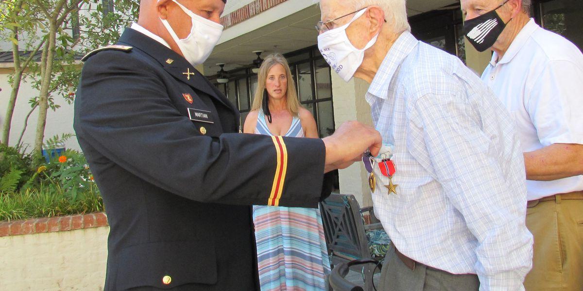 Ridgeland World War II veteran receives medals on 100th birthday