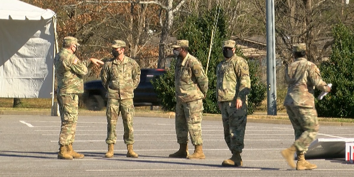 Mississippi National Guard helps deliver coronavirus vaccine