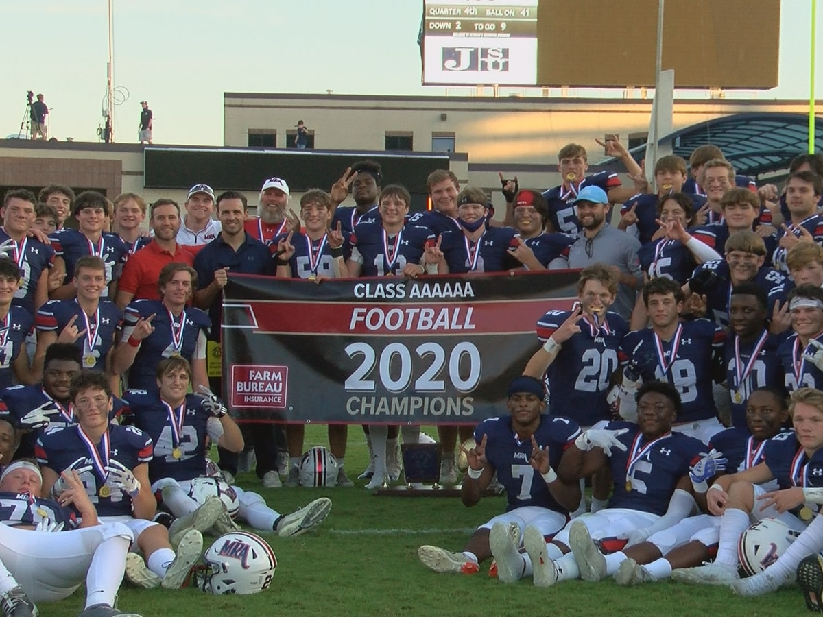 MRA downs Jackson Academy, defends MAIS 6A title