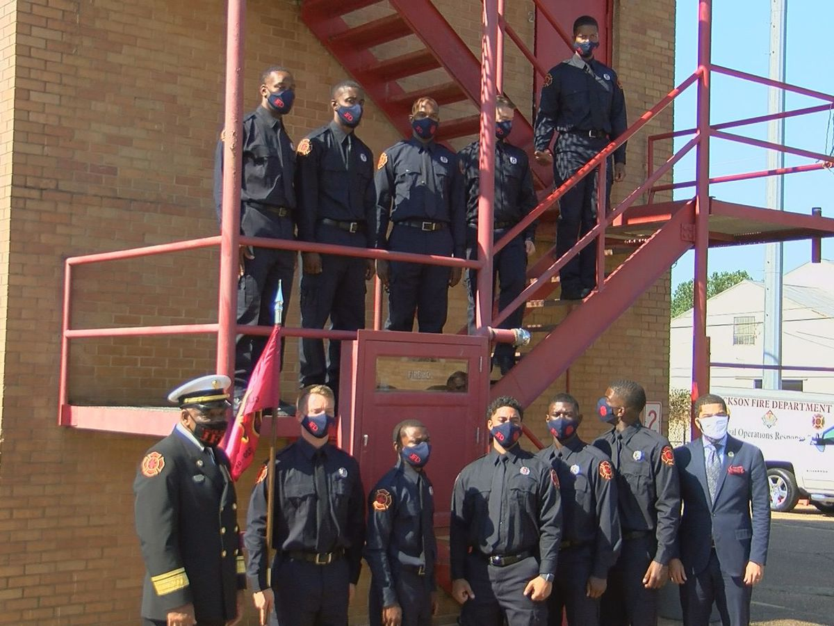 15 recruits graduate under Jackson Fire Department training