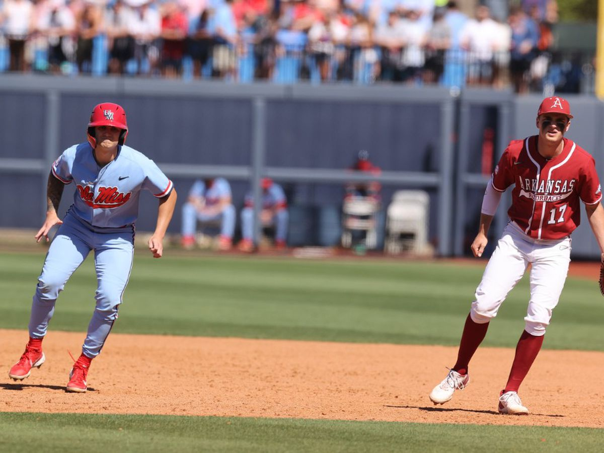 Epic comeback comes up short as Ole Miss drops series to Arkansas