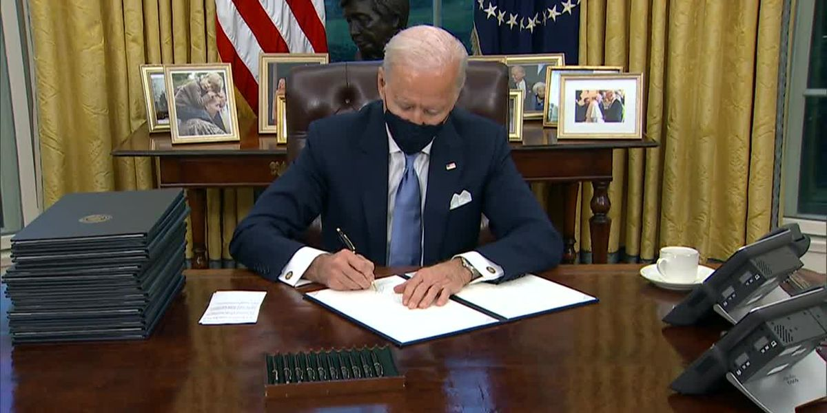 Biden to confront COVID on first full day, asks Americans to 'mask up'