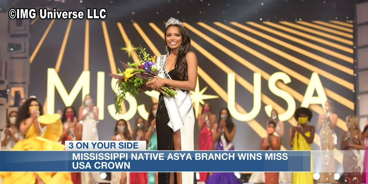 'It still feels unreal;' Mississippi's Asya Branch speaks on Miss USA win
