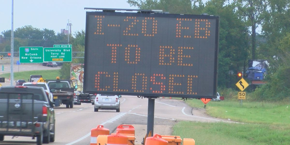I-20 closures causing concerns for drivers