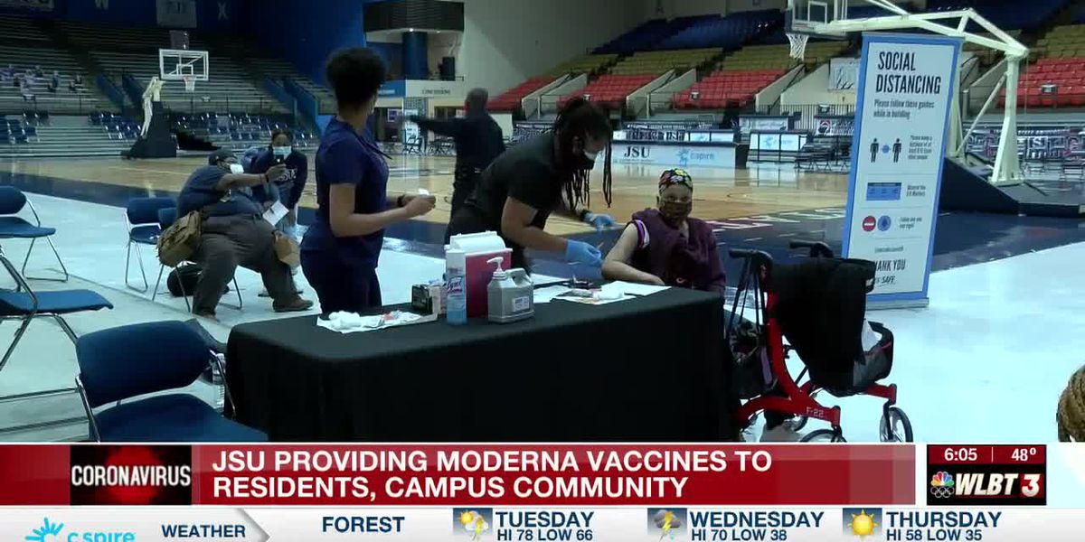Vaccines offered Tuesday at JSU beginning at 10 a.m.