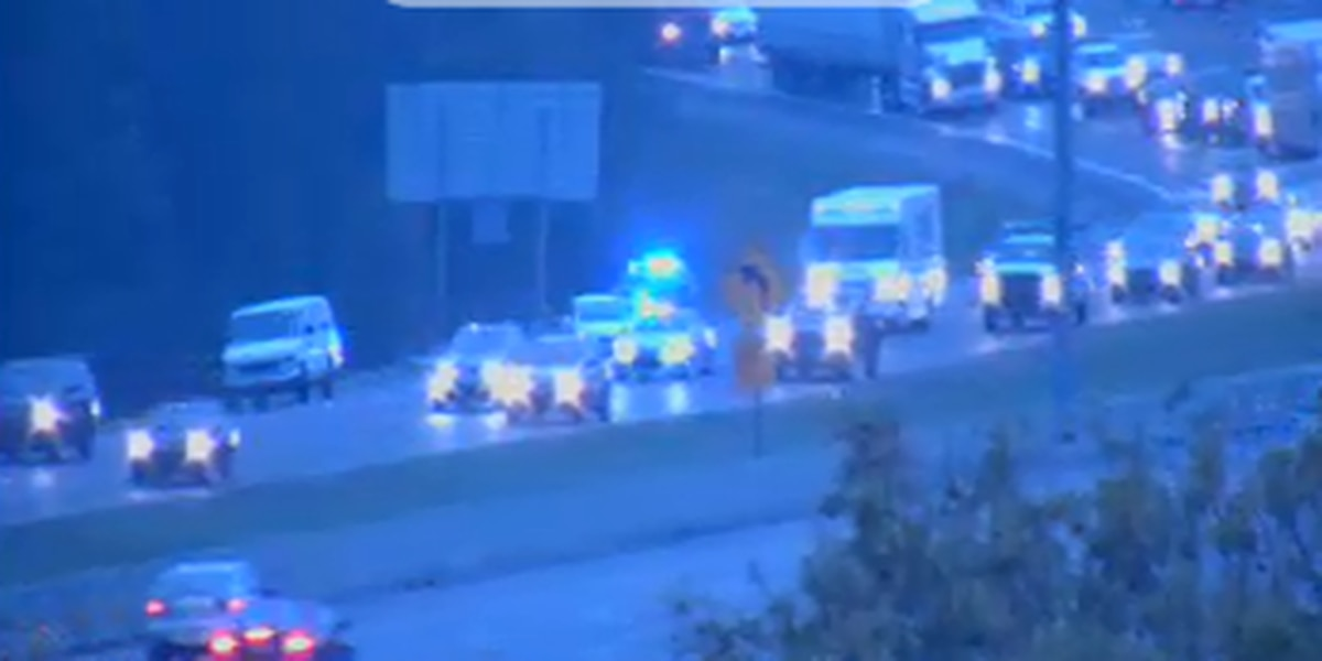 Incident causing major delays on I-55 at Fortification St.