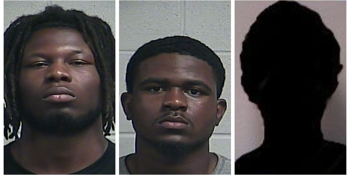 Three in custody after stealing more than $1,000 in electronics from Clinton Walmart