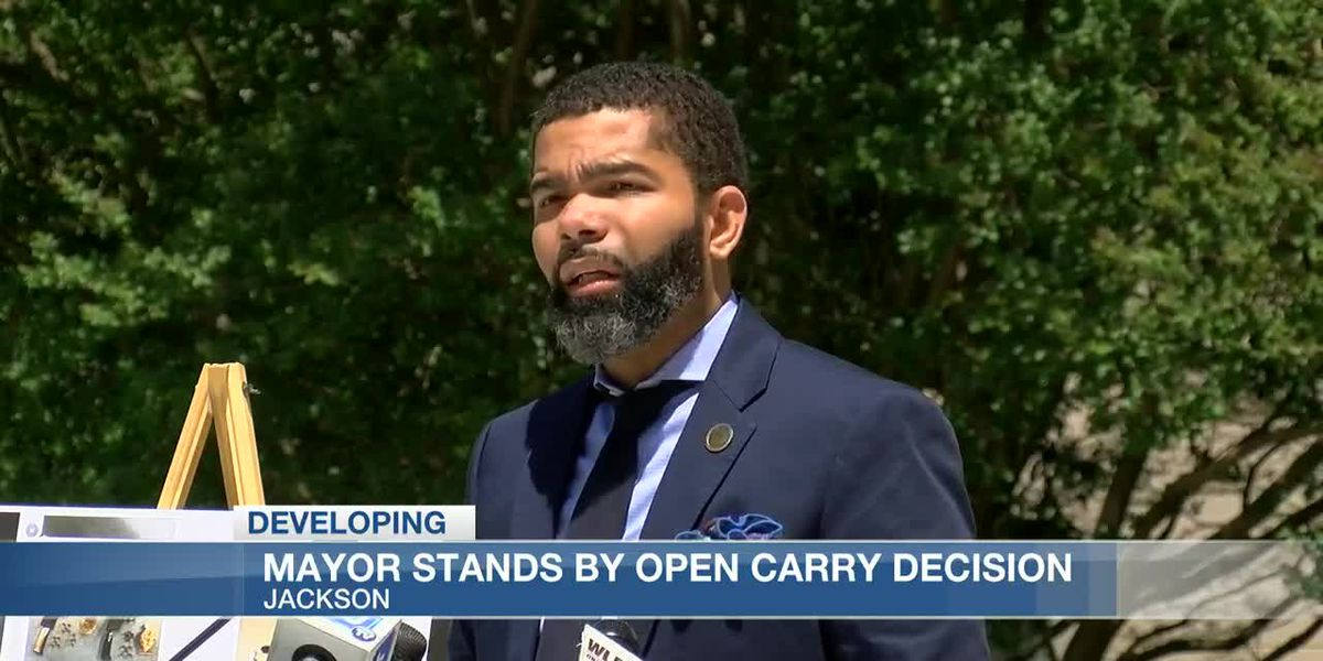 Jackson's Mayor announces lawsuit against Canadian National Railway, stands by open carry suspension