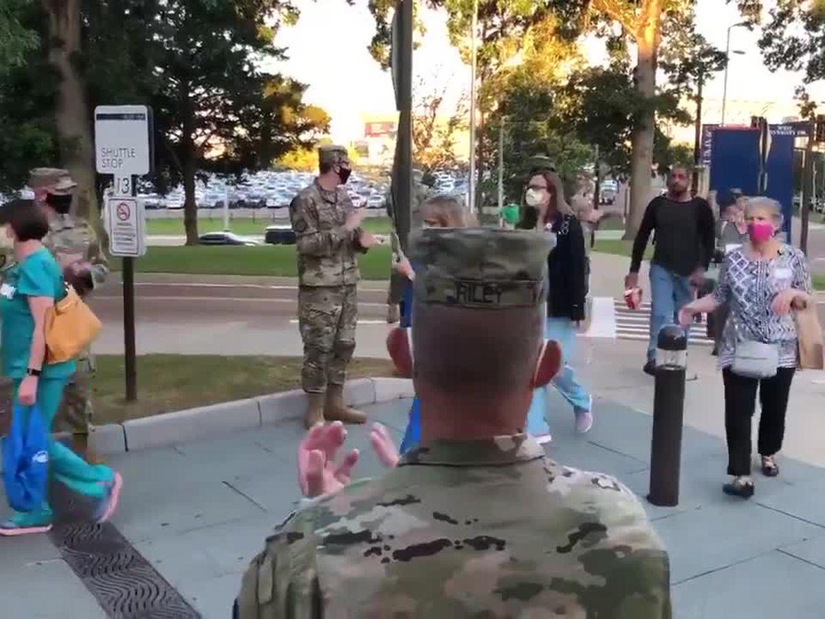 Miss. National Guard honors healthcare heroes to kick off Nurses Week
