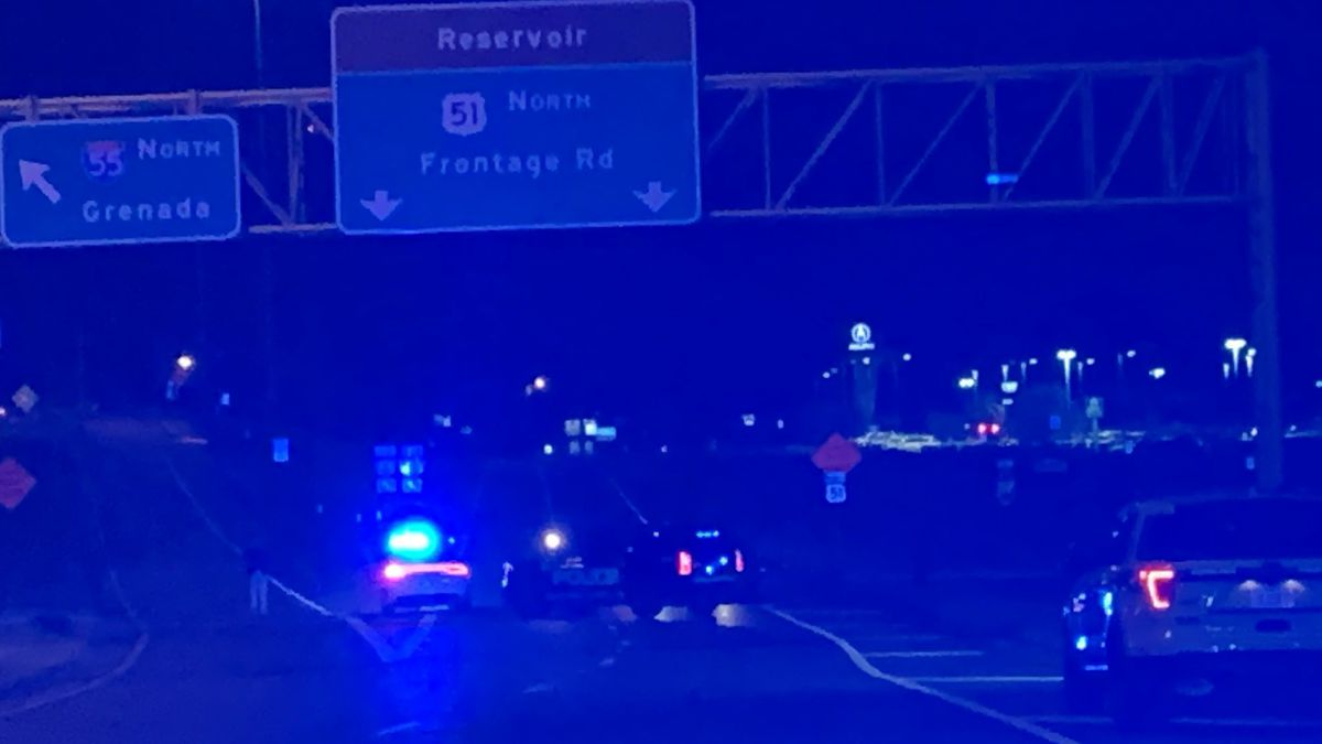 Man injured after shots fired on I-55 frontage road in Ridgeland
