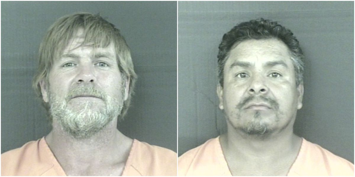 Two men arrested after 400 pounds of marijuana confiscated during traffic stop