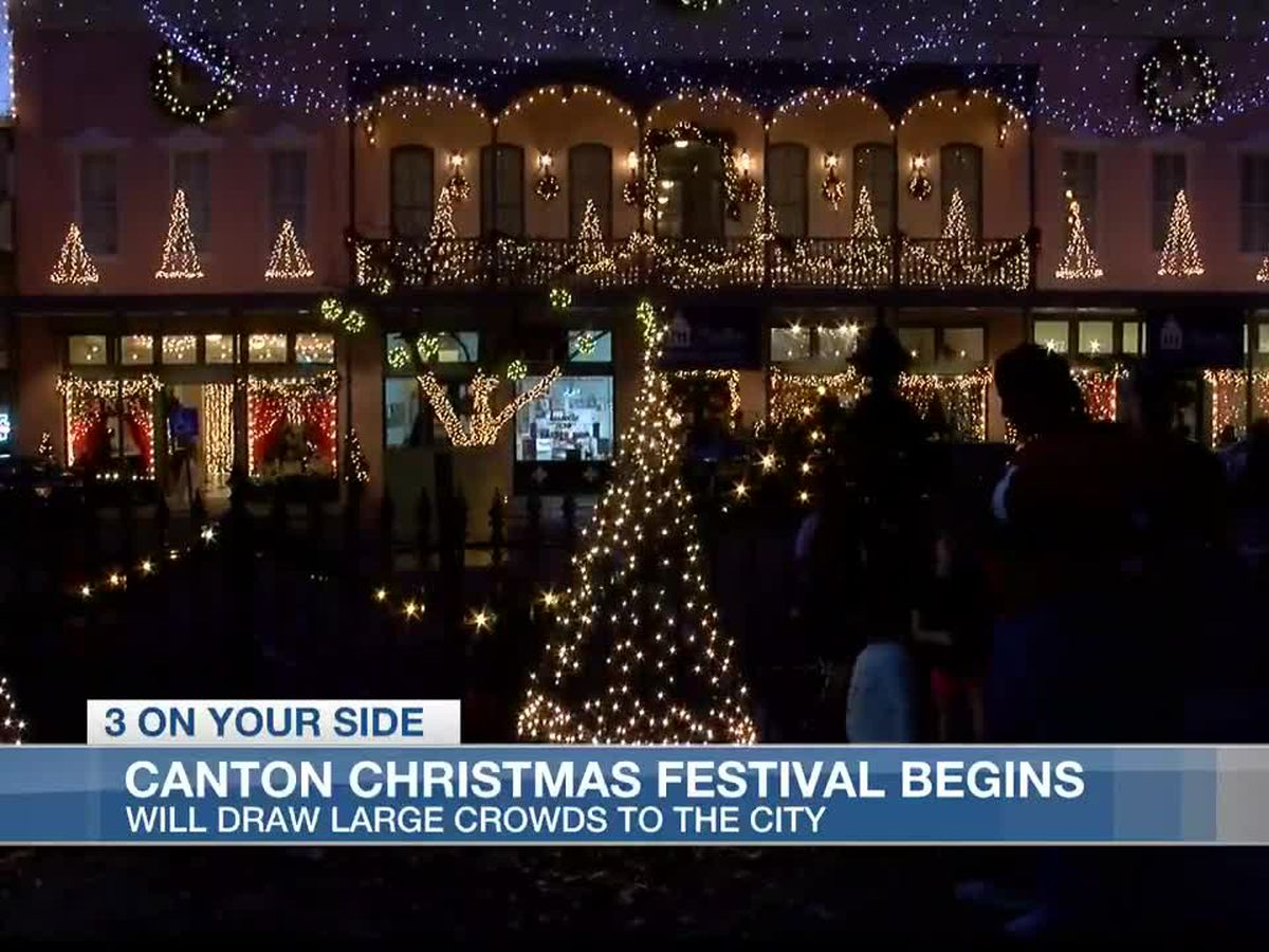 Canton Christmas Festival lights up the night