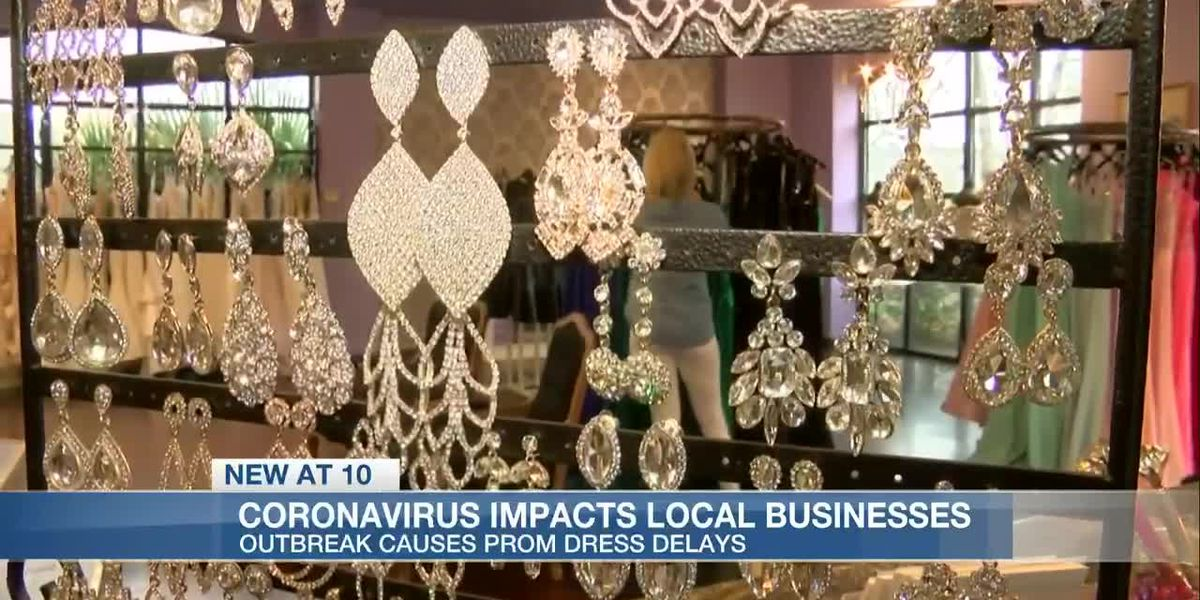 Madison prom dress shop impacted by coronavirus outbreak