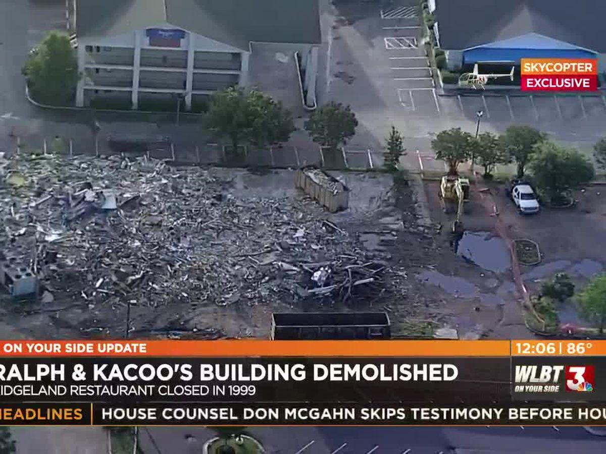 Ralph & Kacoo's building demolished