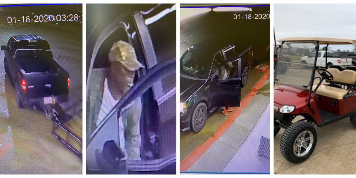 CrimeStoppers: Flora police searching for Magnolia Carts and Equipment burglary suspect