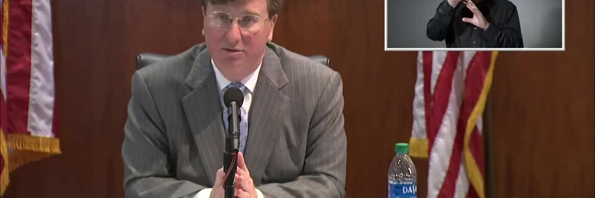 WATCH: Gov. Reeves reacts to Ingalls coronavirus cases hitting a new high