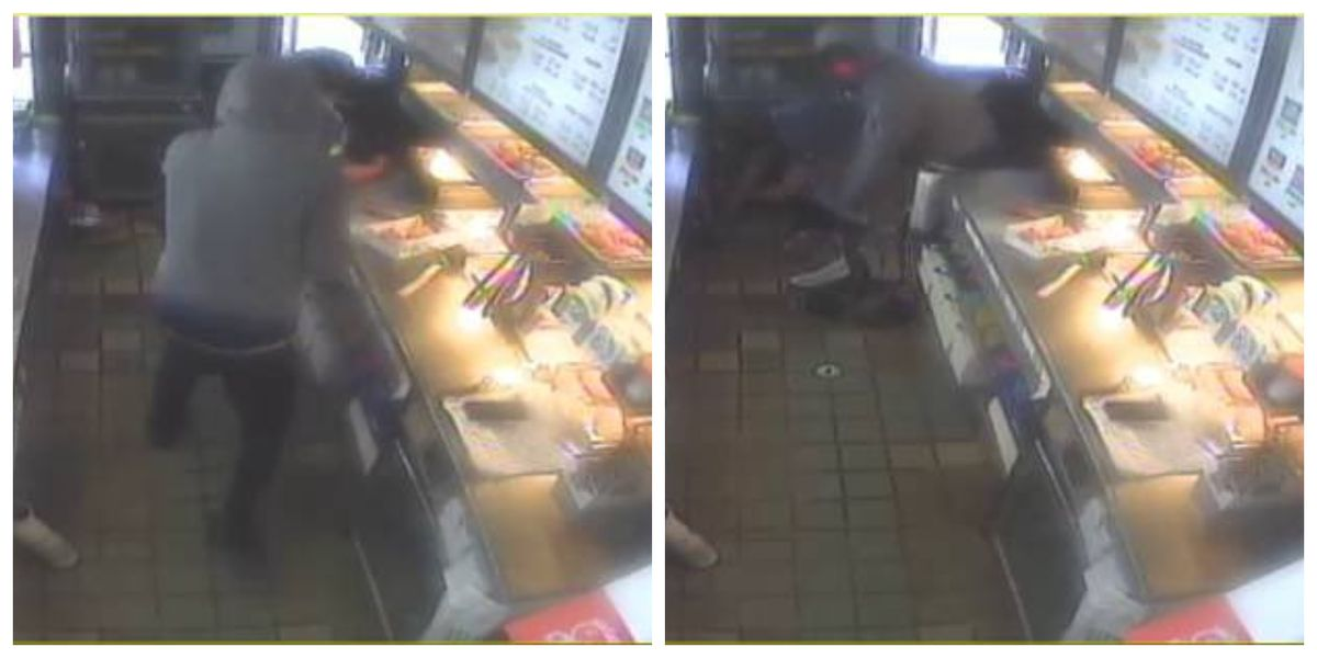 Surveillance photos: JPD asking for public's help to identify man wanted in Church's Chicken robbery