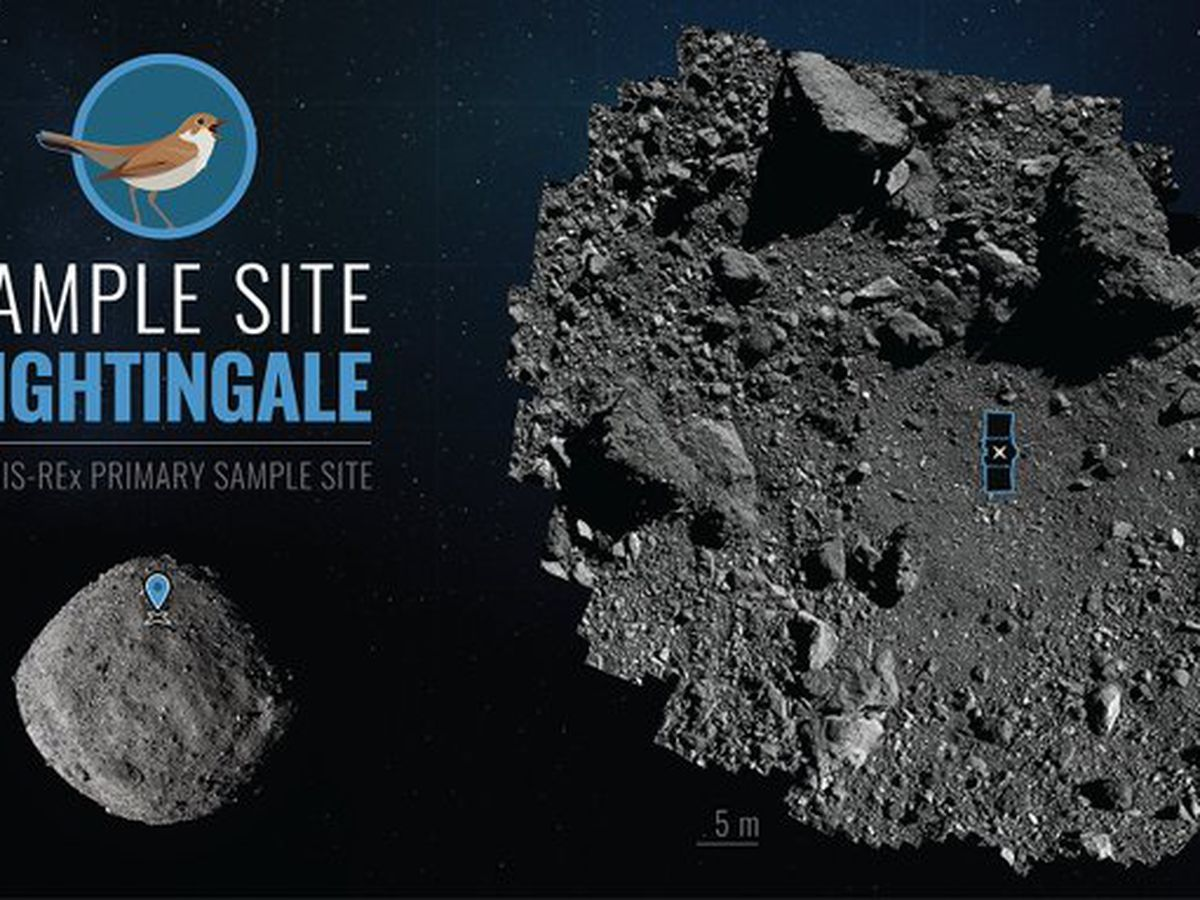 US spacecraft diving to asteroid surface for rare rubble grab